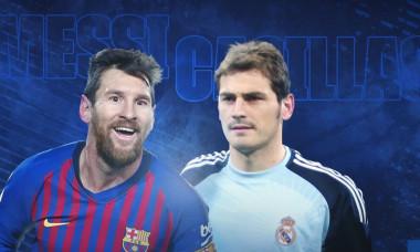 Messi si Casillas
