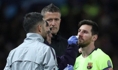 messi accidentat