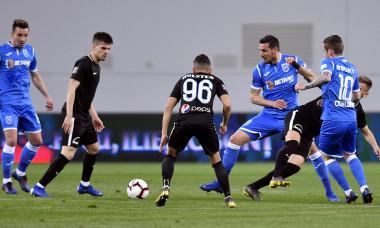 FOTBAL:UNIVERSITATEA CRAIOVA-FC VIITORUL, CUPA ROMANIEI (4.04.2019)