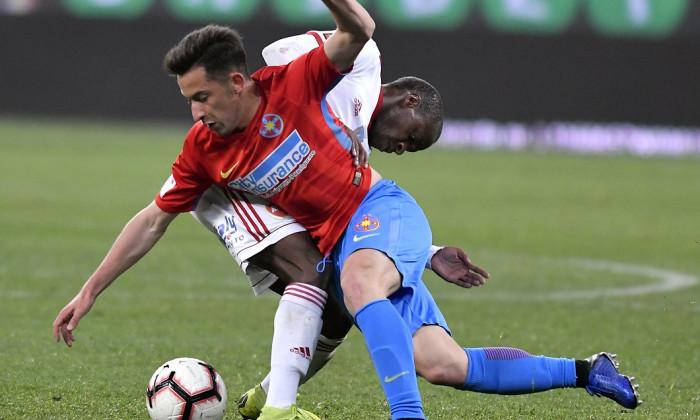 FOTBAL:FCSB-SEPSI OSK SFANTU GHEORGHE, PLAYOFF LIGA 1 BETANO (8.04.2019)