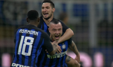 Bucurie nainngolan Inter Juve