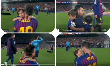 Messi si copiii