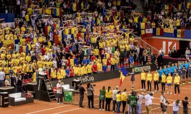 TENIS:FRANTA-ROMANIA, CAROLINE GARCIA-SIMONA HALEP, FED CUP (21.04.2019)