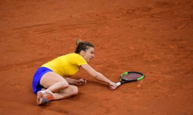simona halep accidentare Rouen
