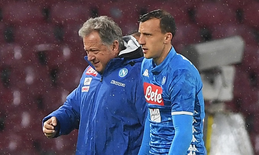 chiriches accidentare napoli atalanta
