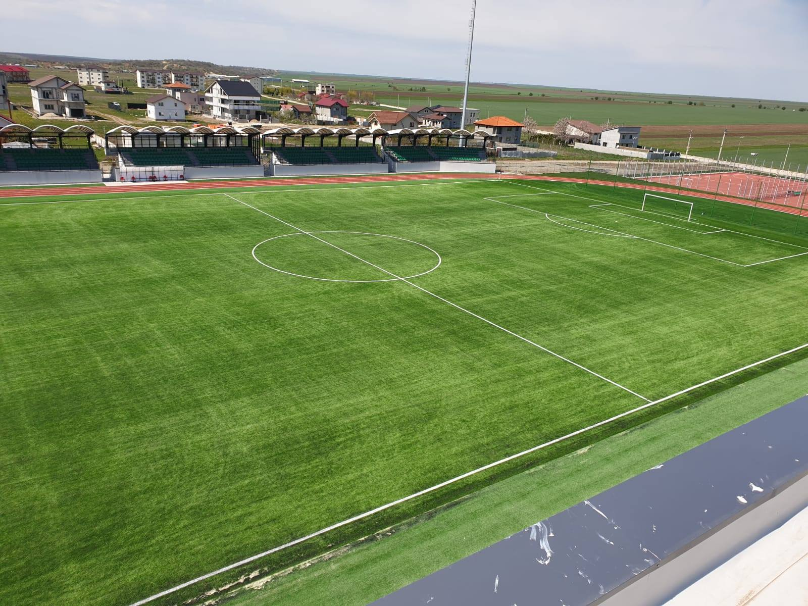 Complex sportiv de nouă milioane de euro într-o comună de 14.000 de locuitori
