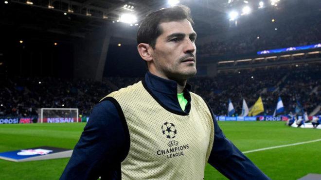 Imaginea postată de FC Porto cu Iker Casillas, înainte de a suferi infarctul