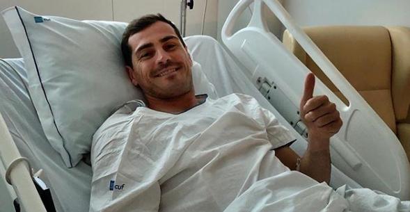 Mesajul plin de emoţie al lui Casillas, de pe patul de spital! \