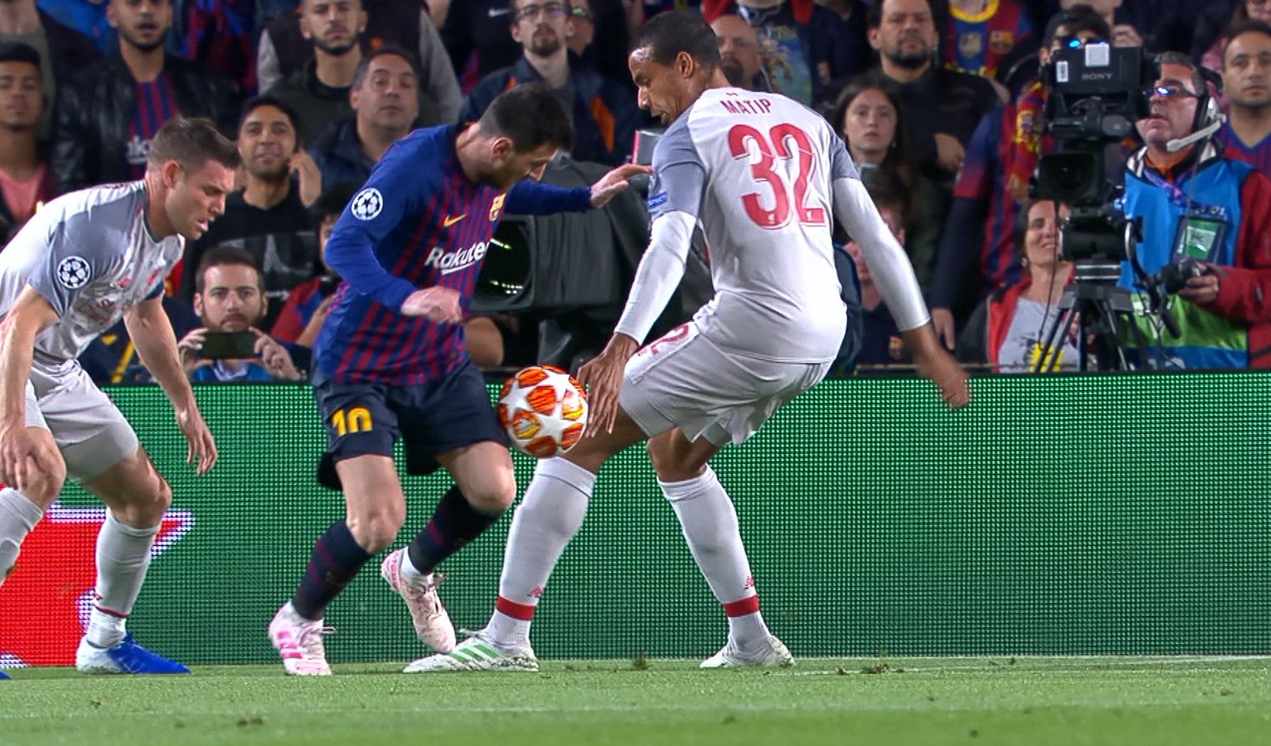 Messi a cerut în zadar VAR contra lui Liverpool. Ce a reclamat starul argentinian