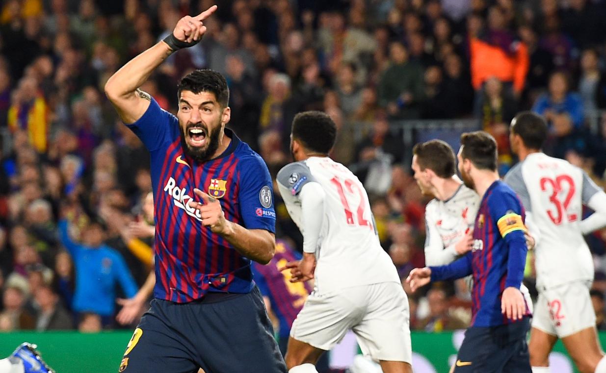 Barcelona - Liverpool | Luis Suarez a marcat contra fostei sale echipe un gol istoric şi s-a bucurat ca un copil