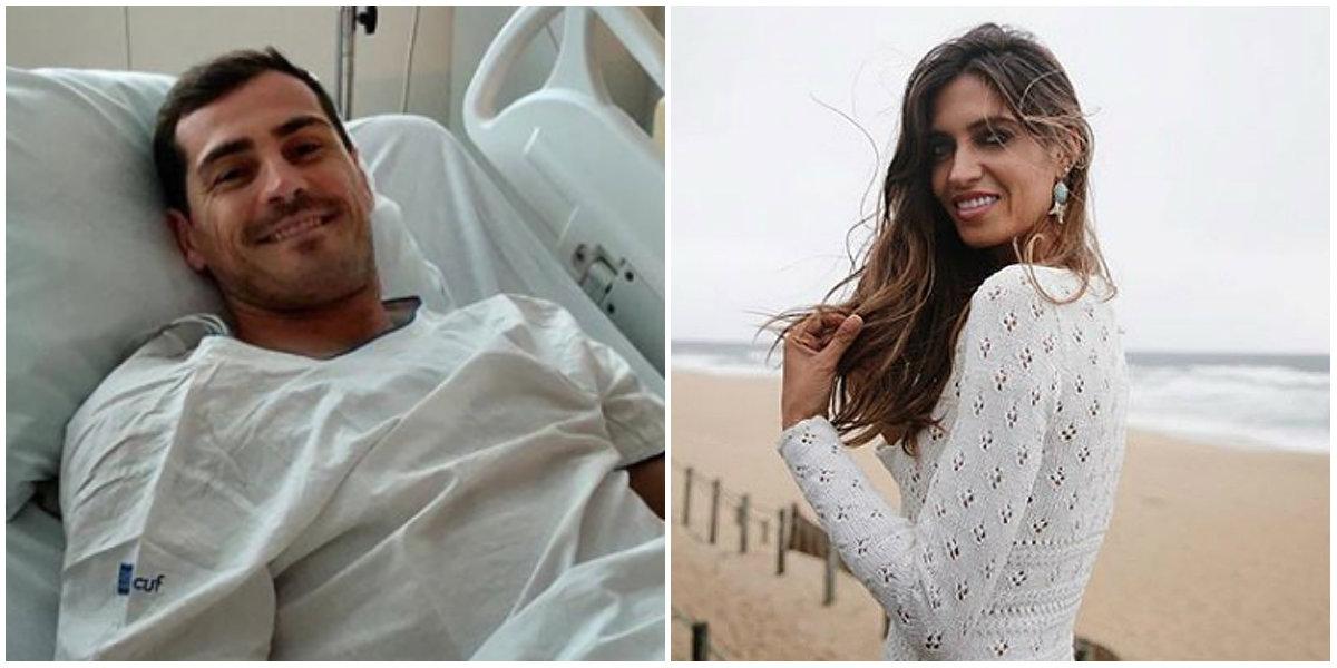 Iker Casillas a făcut infarct. Reacția emoționantă a soției sale