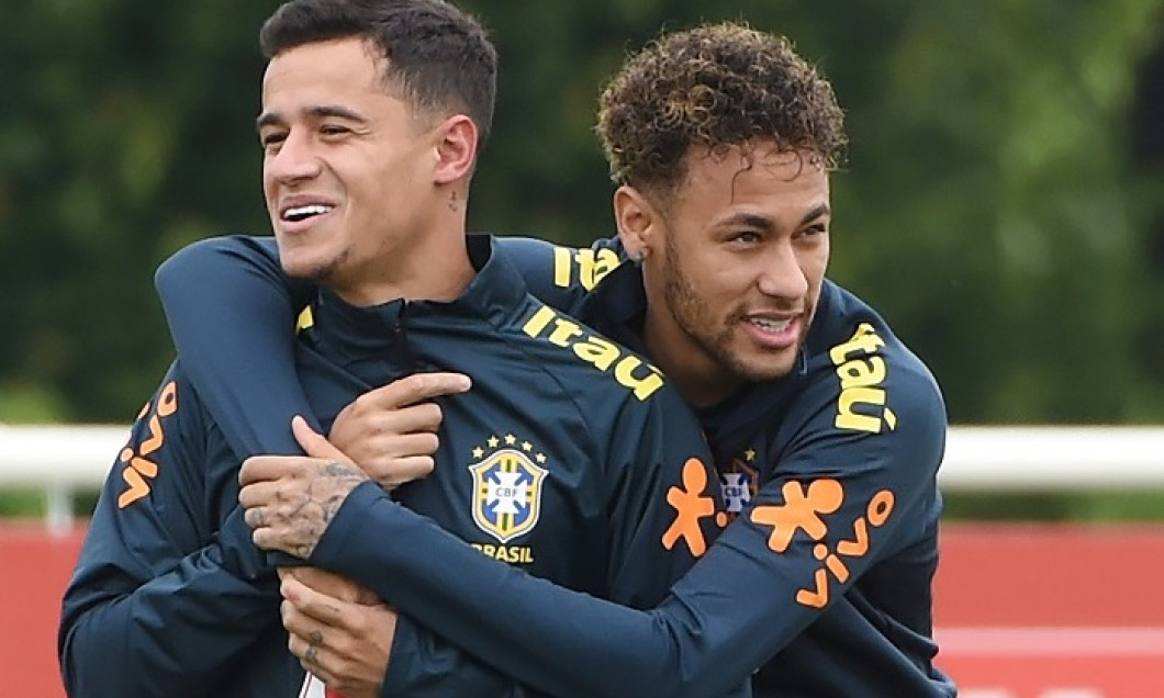 Brazil training in London