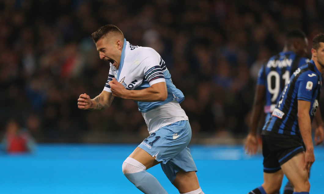 Sergej Milinkovic-Savic a marcat pentru Lazio în meciul cu Atalanta