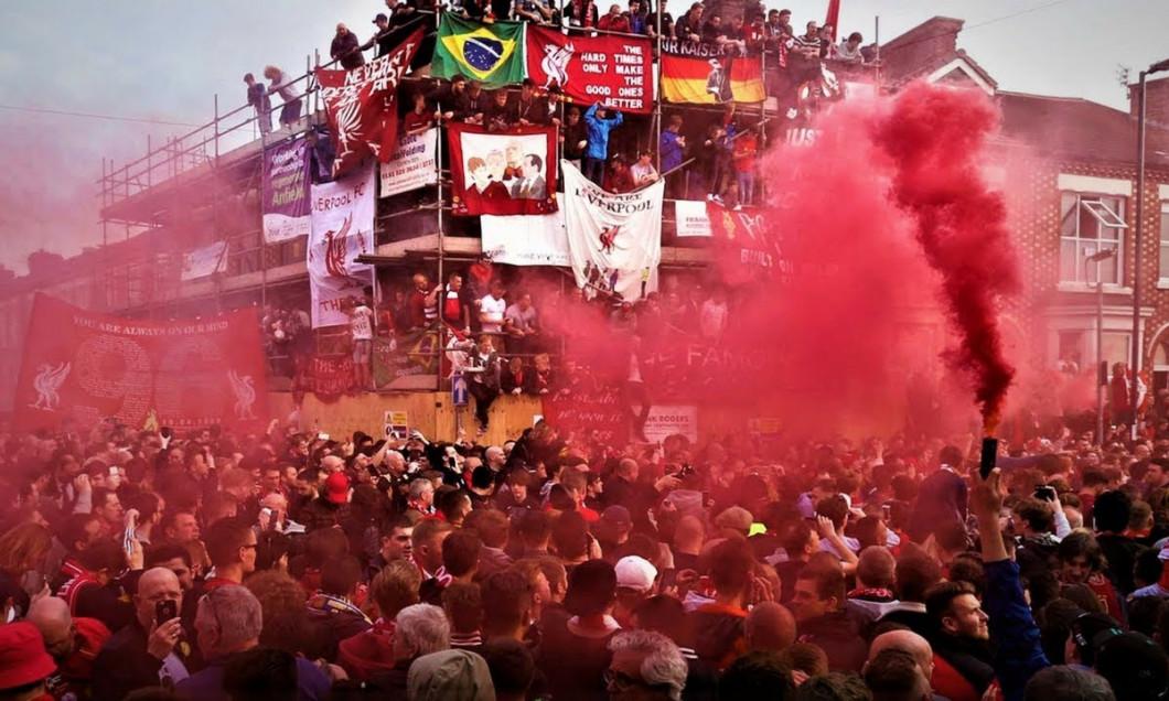 fanii lui Liverpool