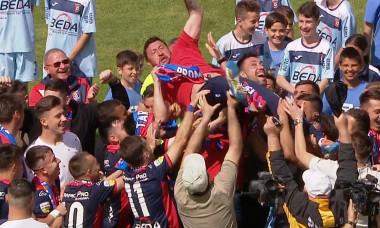 Chindia - Oradea 4-1. Echipa din Târgoviște promovează matematic în Liga 1. Rezultatele etapei