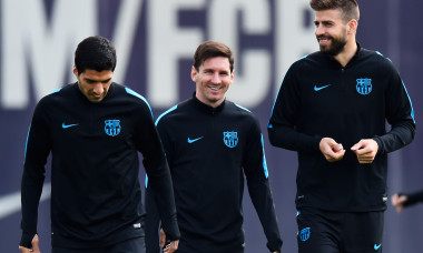 Barcelona Training Session and Press Conference