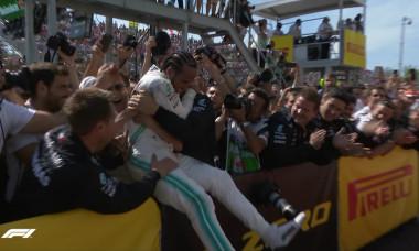 Hamilton bucurie Formula 1 Canada