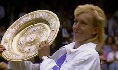 Navratilova Wimbledon