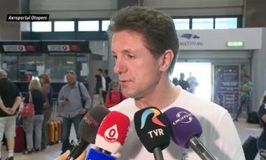 Gică Popescu pe Aeroportul Henri Coandă