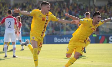Romania - Crpatia 4-1. Hagi si Ivan