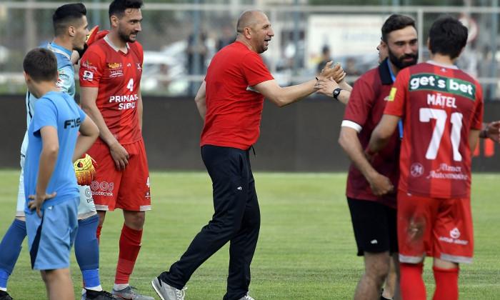 FOTBAL:AFC HERMANNSTADT-UNIVERSITATEA CLUJ, BARAJ RETUR LIGA 1 BETANO (12.06.2019)