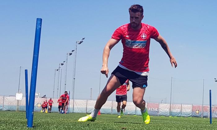Mihai Pintilii antrenament FCSB