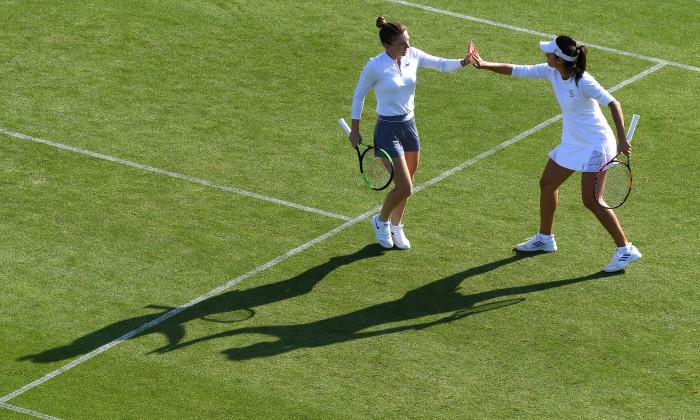 Raluca Olaru și Simona Halep sunt în semifinale la Eastbourne