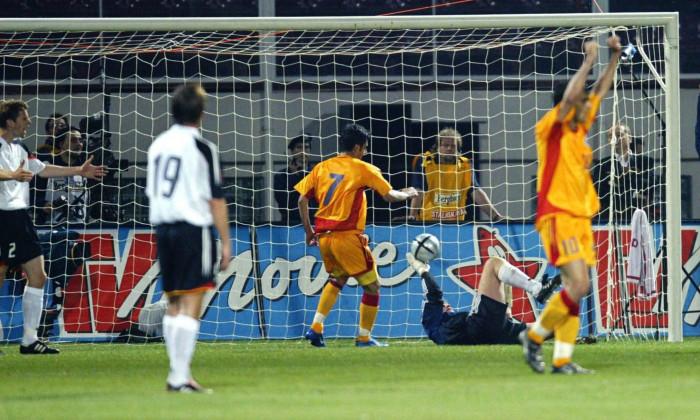 Fussball: Laenderspiel 2004, Rumaenien-Deutschland