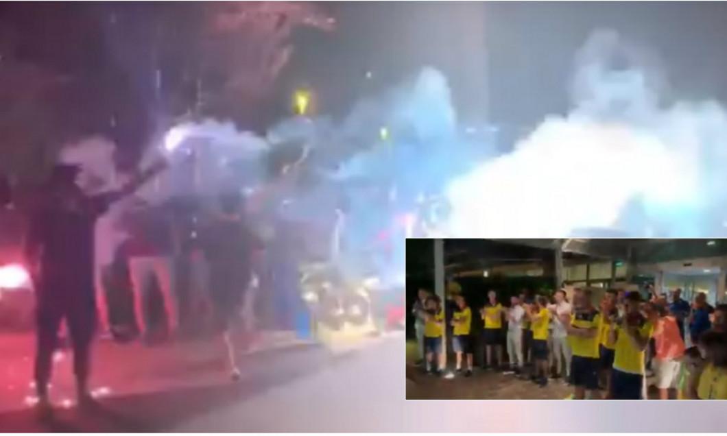 fotbalisti romania hotel fani