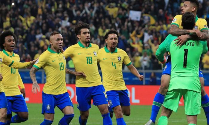 Brazilia vs Paraguay