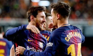 Coutinho și Messi