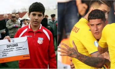 Florinel Coman a impresionat ca fotbalist de mic