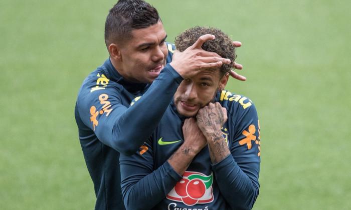 Casemiro și Neymar