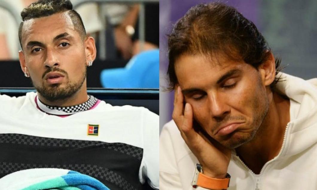 Nick Kyrgios și Rafael Nadal