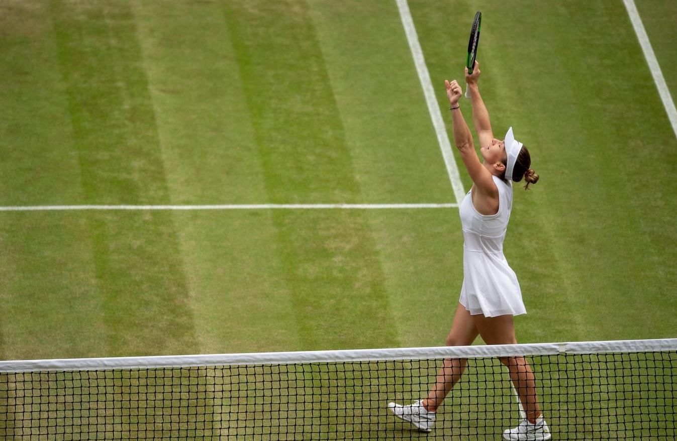 Simona Halep, în culmea fericirii! Care a fost mesajul postat de finalista de la Wimbledon
