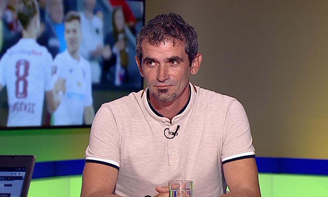 Cosmin Bărcăuan, în studioul Digi Sport / Foto: Captură Digi Sport