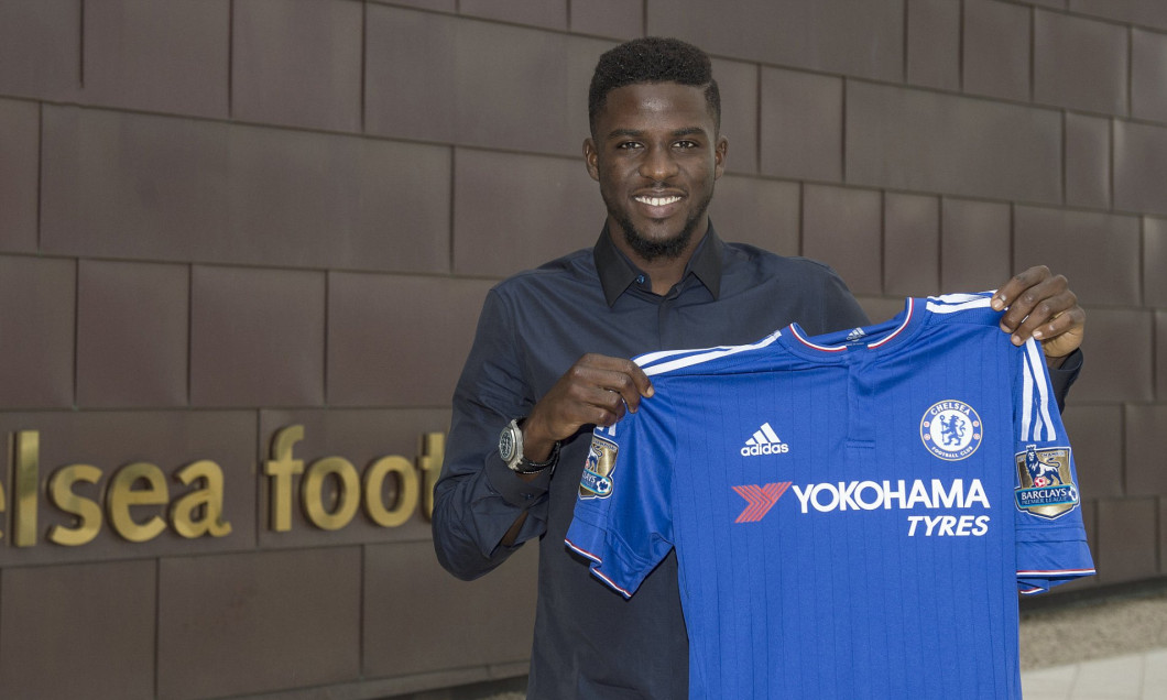 Soccer - Chelsea FC - Papy Djilobodji Presentation - Cobham Training Ground