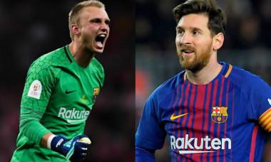 Casper Cillessen Leo Messi