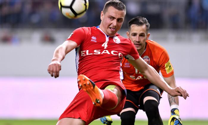 George Miron în CS UNIVERSITATEA CRAIOVA-FC BOTOSANI, CUPA ROMANIEI (19.04.2018)