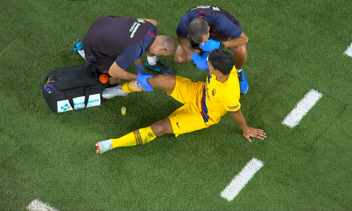 suarez accidentare 3`j
