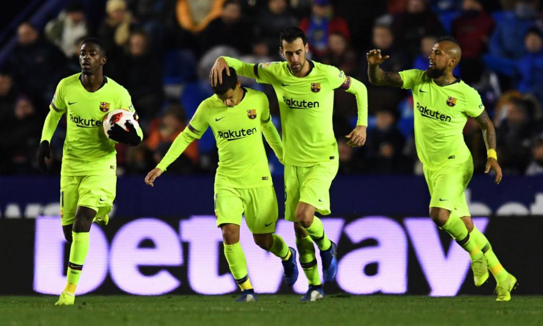 Dembele Messi Busquets Vidal