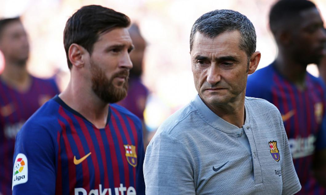 Ernesto Valverde Leo Messi