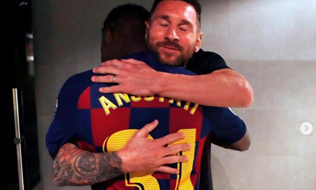 Leo Messi Ansu Fati