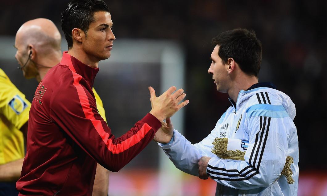 Leo Messi Cristiano Ronaldo