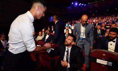 Leo Messi și Cristiano Ronaldo