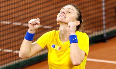 TENIS: SIMONA HALEP VS VIKTORIJA GOLUBIC, FED CUP ROMANIA - ELVE
