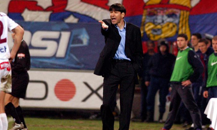 FOTBAL:STEAUA BUCURESTI-RAPID BUCURESTI 3-3, DIVIZIA A (21.03.2004)