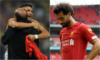 Alexis Sanchez Mohamed Salah