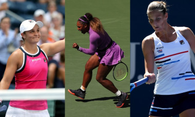 Barty Serena Williams Karolina Pliskova