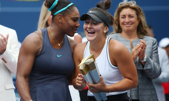 Serena Williams Bianca Andreescu